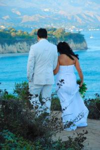 Our Wedding in Malibu